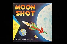 """Moon Shot  game 1967  Never used packaging intact  VFNM  Cadaco  14.5"""" x 14 1/4"""""""