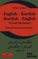 English Kurdish - Kurdish English - Sorani Dictionary: By M Goddard