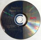 APC PowerChute Personal Ed. Software CD Windows 98/Me/2000/XP & Mac OS X 10.2.x