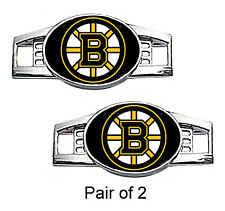 Boston Bruins Shoe Charms / Paracord Charms