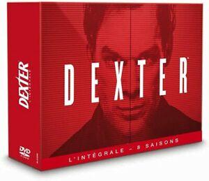 COFFRET NEUF DVD SERIE THRILLER : DEXTER - SAISONS 1 A 8 INTEGRALES - COLLECTOR