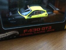 MATTEL HOT WHEELS V6683 FERRARI F430 GT3 model car ROSSI Kessel Racing 2009 1:43