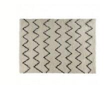 HABITAT Flokati Cream & Charcoal 170 x 240cm rug ONLY £230.00 FREE P&P