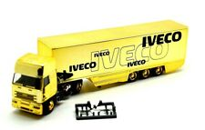 Rietze 1:87  Iveco EuroTech Eurokoffer-Sattelzug / Iveco Werbung Gold-Edition