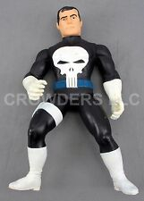 "Marvel Comics Frank Castle the PUNISHER 15"" Poseable Action Figure '91 ToyBiz"