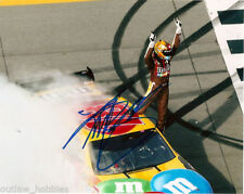 Toyota M&Ms Kyle Busch Autographed Signed 8x10 Photo COA