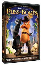 NEW Puss in Boots (DVD, 2012) ANTONIO BANDERAS (pUSS FROM sHREK) MOVIE