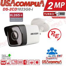 Hikvision 2MP Poe Ip Bullet H265+ DS-2CD1023G0-I Câmera De Rede Externa WDR exir