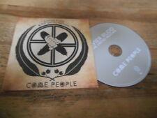 CD Indie Xavier Rudd United Nations - Come People (1 Song) Promo NETTWERK cb