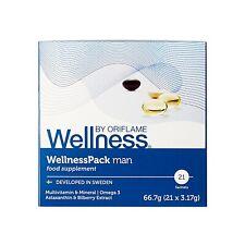 Oriflame Wellness Pack man Omega3 Astaxanthin - ORIGINAL