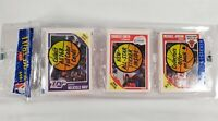 1989 Fleer Basketball Rack Pack MICHAEL JORDAN On Top Magic Johnson Sticker +