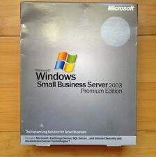 Microsoft Windows Small Business Server Premium 2003, Exchange Server Included