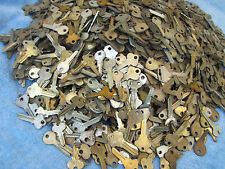 Large Lot of VINTAGE  Key BLANKS 3 lbs ++YALE,MOSLER,SLAYMAKER,ILCO,ABUS….