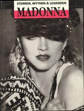 MADONNA Sterren Mythen & Legenden BOOK 1992 Dutch PHOTO BOOK HARD COVER