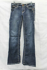 Laguna Beach Jean Co Womens Bling Jeans Size 29 Excellent Used Con 1631
