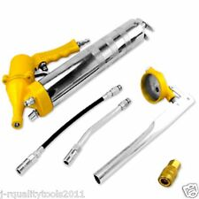 AIR PNEUMATIC or HAND PUMP GREASE GUN SET 6PC SET