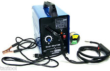 FLUX WIRE WELDER MACHINE MIG 100 90 AMP WELDING NO GAS TOOLS