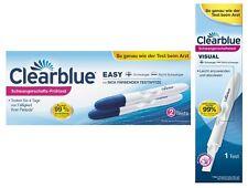 3 x Clearblue Schwangerschaftstest schnelle Erkennung + 2 One+Step 10 miu/ml