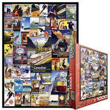 JIGSAW EG60000648 	 Eurographics Puzzle 1000 Pc - Canadian Pacific Adventures