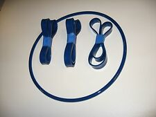 """3 URETHANE BAND SAW TIRES  AND ROUND DRIVE BELT SET FOR SCOTTY'S 14"""" JM-81000"""