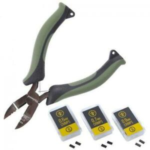 Wychwood Crimping Tool Pliers OR spare Crimps Carp Ronnie Chod Hook Rig Fishing