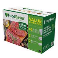 FoodSaver Vacuum Sealer Bag and Roll Combo Pack *** BPA FREE***