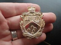 Monash University Regiment Hat Badge (G1)