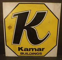 Kamar Buildings Metal Sign Collectible Metal Sign Farm Equipment Buildings