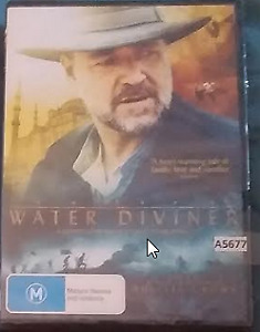 The Water Diviner DVD NEW SEALED Russell Crowe R4 Australian release