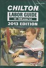 1990-2013 Chilton Labor Time Estimating Shop Flat Rate Guide Manual Book CD 2966