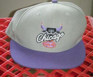 Chicago Bulls NBA New Era 9Fifty Hardwood Classics Windy City Snap back Hat Used