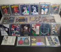 25 Card BASEBALL BARGAIN Repack Lot Auto PATCH Jersey RELIC Game Used RPA
