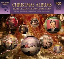 Eight (8) Classic Christmas Albums Vol. 4 VARIOUS ARTISTS Best Of MUSIC New 4 CD