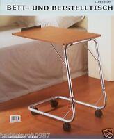bett serviertisch betttisch klapptablett pflegetisch bettablage ebay. Black Bedroom Furniture Sets. Home Design Ideas