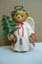 """Cherished Teddies Angel """"Everyone Needs A Little Help Learning To Fly'' 3"""" tall"""