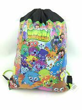 OFFICIAL MOSHI MONSTERS BOYS GIRLS TRAINER GYM PE SPORTS KIT TIDY DRAWSTRING BAG