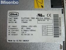 Eltek Flatpack 1500 48V/31A 230Vac 241114.102 Power Supply Rectifier Module