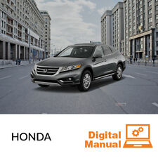 Honda - Service and Repair Manual 30 Day Online Access