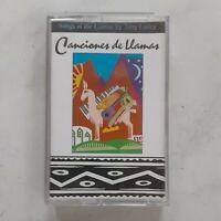Tony Lasley: Canciones de Llamas - Audio Cassette Tape