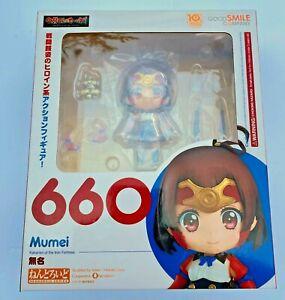 NEW Nendoroid 660 Kabaneri of the Iron Fortress MUMEI Figure Good Smile Company