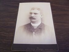 ANTIQUE - GENTLEMAN #2 - CABINET PHOTO - FREY STUDIO  SCRANTON PA