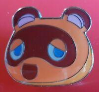 Animal Crossing Tom Nook Pin Gaming Enamel Metal Brooch Badge Lapel Cosplay