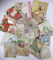 Lot Of Vintage Used Greeting Cards 1950S & 60S + Engage.Announce.Halvorsen
