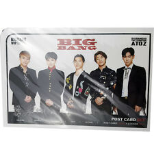Korean POP STAR Big Bang Photo Sticker 3pcs PostCard 12Pcs KPOP Star New