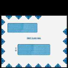 "9 1/2"" x 12"" Double Window First Class Mail Envelope - Peel & Seal (UltraTax)"