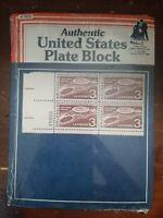US #1104 United States Commemorative Plate Block - Brussels, Belgium Exposition