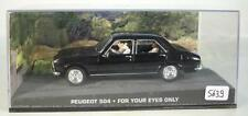 James Bond 007 Collection 1/43 PEUGEOT 504-For your eyes only in box #5639