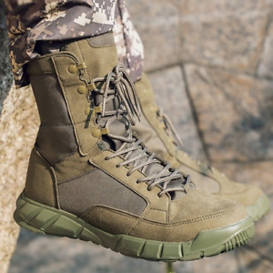 Men's Outdoor Desert Tactical Boots  Hiking Training Shoes Combat Military Boots