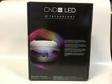 CND Shellac Professional LED Light Lamp 3C Technology -Cures Gel Nail Polish NEW