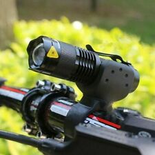 Zoom Front Bike Light LED Waterproof Removable Torch Free Postage Uk Next Day